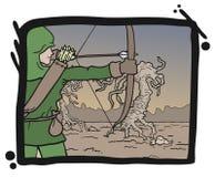 Aim comic Stock Images