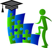 Aim education. Illustration art of a aim education with isolated background Stock Photos