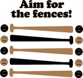 Aim for Fences Stock Image