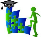 Aim graduation people Royalty Free Stock Image