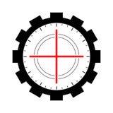 Aim icon, target icon vector. Aim icon vector illustration, target icon vector illustration, gun vector illustration icon vector illustration
