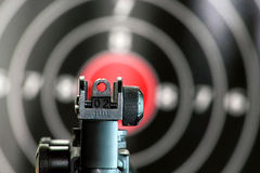Aim to the target Stock Images