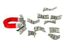 Aimant d'argent illustration de vecteur