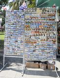 Aimants touristiques à Batumi, la Géorgie Photo libre de droits