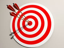 Aimed target Stock Image