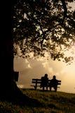 aimer de couples Images libres de droits