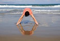 Aimer la plage Image libre de droits