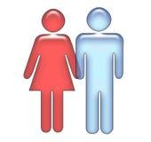 Aimer/ménages mariés Image libre de droits