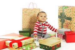 Aimer mon premier Noël ! images libres de droits