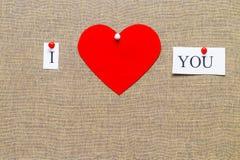 Aimez, fait avec le coeur de concepts d'amour avec des lettres créant l'amour d'I Image libre de droits