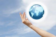 Aimez la terre Image libre de droits