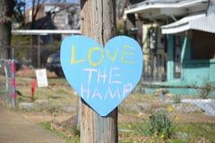 Aimez le Hamp, Communauté Memphis de Binghampton Photographie stock libre de droits