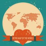 Aimez le monde illustration stock