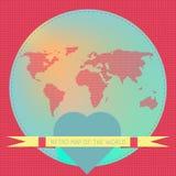 Aimez le monde illustration libre de droits