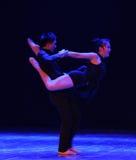 Aimez le sald de rotation-should've, j'aiment la danse vous-moderne Photographie stock libre de droits