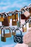 Aimez les blocages Photo libre de droits