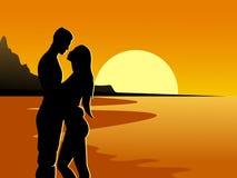 Aimez les couples Photographie stock