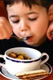 Aimez ma céréale et raisins secs. photo libre de droits