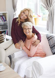 Aimez ma grand-maman Photo stock