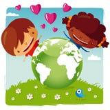 Aimez notre planète Illustration Stock