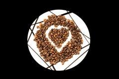 Aimez pour le café Photographie stock libre de droits