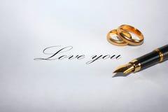 Aimez-vous? Images libres de droits