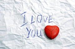 Aimez-vous Image stock