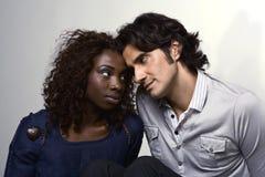 Aimez-vous diversité d'amour Photo stock