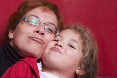 Aimez-vous maman photos libres de droits