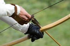 Aiming archers Stock Photos