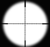 Aiming circle Royalty Free Stock Photo