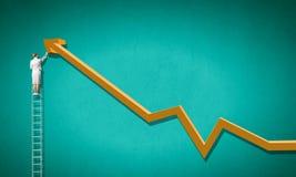 Aiming top Stock Photo