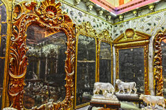 Aina Mahal. The Aina Mahal in Bhuj, India, is an old Palace that was built in the 18th century. The erstwhile palace which belonged to Maharao Lakhpatji has now royalty free stock photography