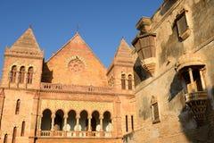 Aina Mahal-paleis in Bhuj, Gujarat, India Royalty-vrije Stock Foto's