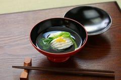 Greenling soup, ainame-wan, japanese kaiseki cuisine Stock Photo