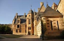 Ainay-le-Vieil castelo Fotografia de Stock