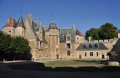 Ainay-le-Vieil castle Stock Photo