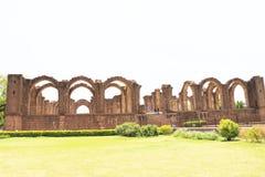 Aincent arches and ruins bijapur Karnataka india Royalty Free Stock Images