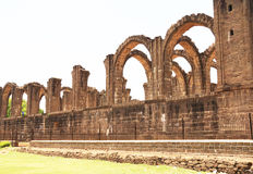 Aincent arches and ruins bijapur Karnataka india. Ancient ruins in and around bijapur [Agra of South India] built during The Adil Shahi Sultans dynasty Stock Image