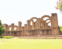 Aincent arches and ruins bijapur Karnataka india. Ancient ruins in and around bijapur [Agra of South India] built during The Adil Shahi Sultans dynasty Stock Photo