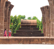 Aincent arches and tomb bijapur Karnataka india. Ancient ruins and tombs in and around bijapur [Agra of South India] built during The Adil Shahi Sultans dynasty Royalty Free Stock Images