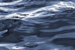 Ainda azul da água Fotografia de Stock