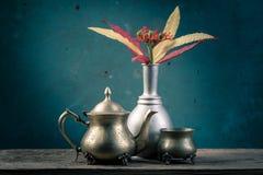 Ainda cesta da flor da vida Imagem de Stock Royalty Free