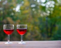 Ainda conceito da vida Partido do vinho fora Fotos de Stock Royalty Free