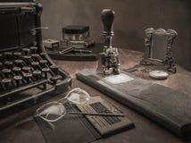 Ainda escritório do vintage da vida Imagem de Stock
