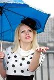 Ainda está chovendo? Fotografia de Stock Royalty Free
