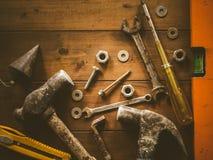 Ainda ferramentas da arte da vida Foto de Stock