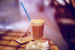 Ainda latte da vida Foto de Stock