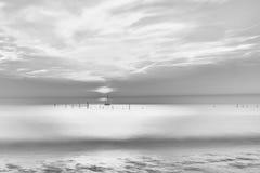 Ainda no mar Fotografia de Stock