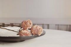 Ainda rosas da vida Fotografia de Stock